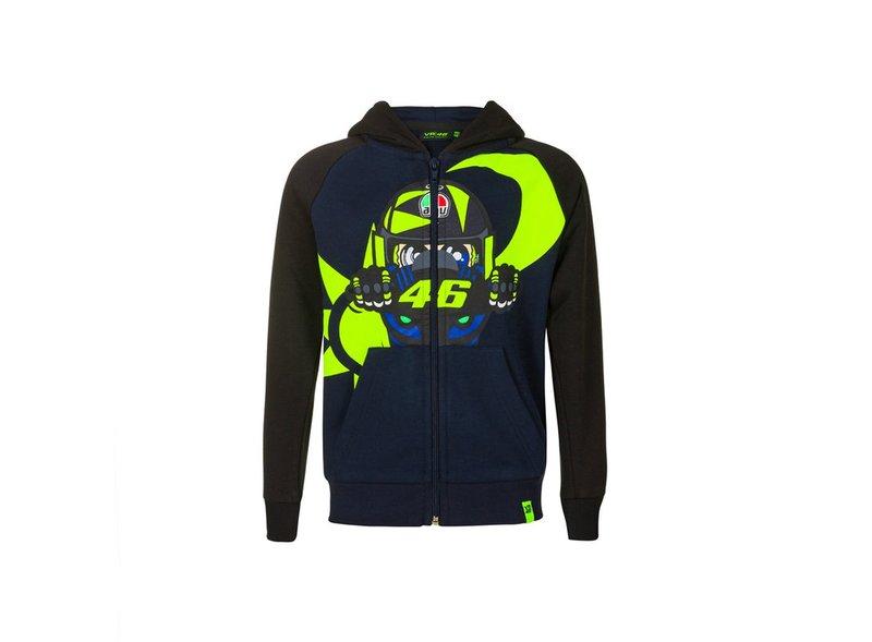 Felpa da bambino Rossi Helmet AGV - Blue