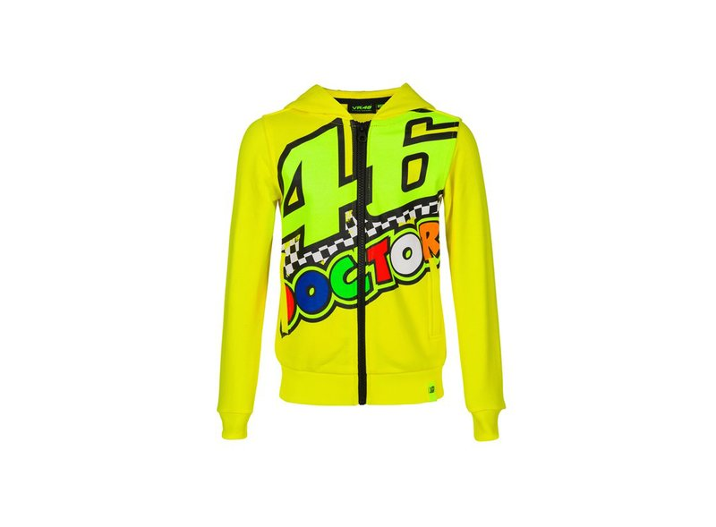 Sweat-shirt enfant VR46 The Doctor - Yellow