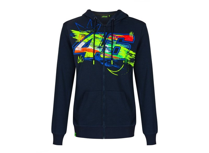 Felpa Valentino Rossi Winter Test - Blue