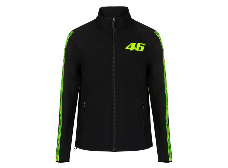 Valentino Rossi 46 waterproof jacket - Black