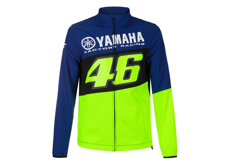 Yamaha Valentino Rossi waterproof jacket - Blue