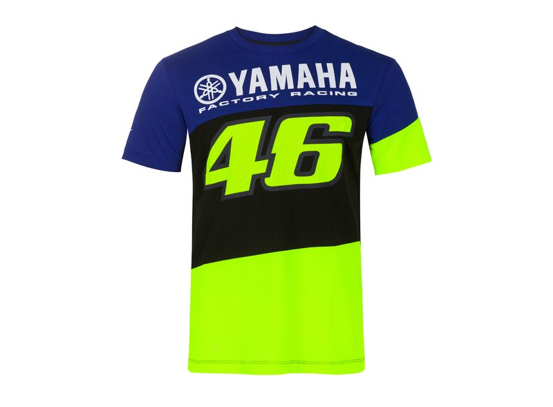 Camiseta Yamaha Valentino Rossi - Blue