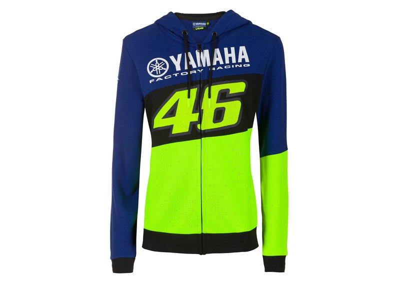 Valentino Rossi VR46 M1 Yamaha Sudadera con Capucha Oficial 2016 Moto GP Mujeres