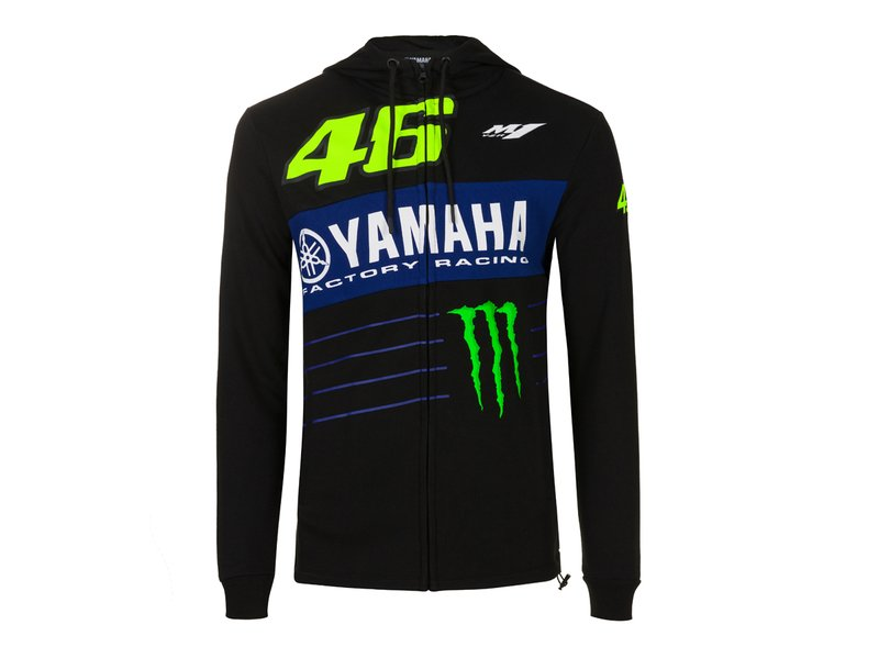 Felpa Yamaha Monster VR46 - Black