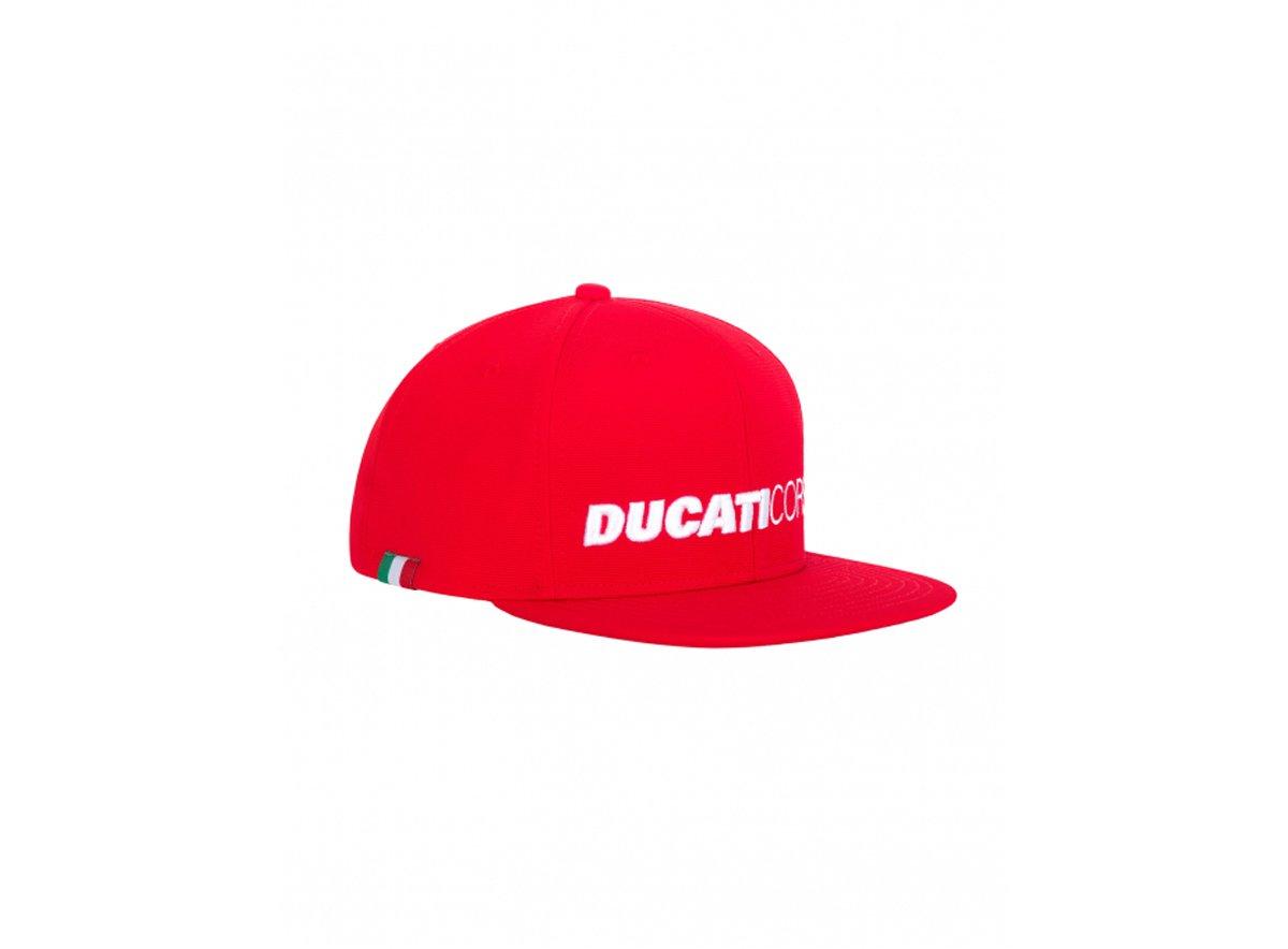 Details about  /Official Ducati Corse Flat Visor Cap 20 46006