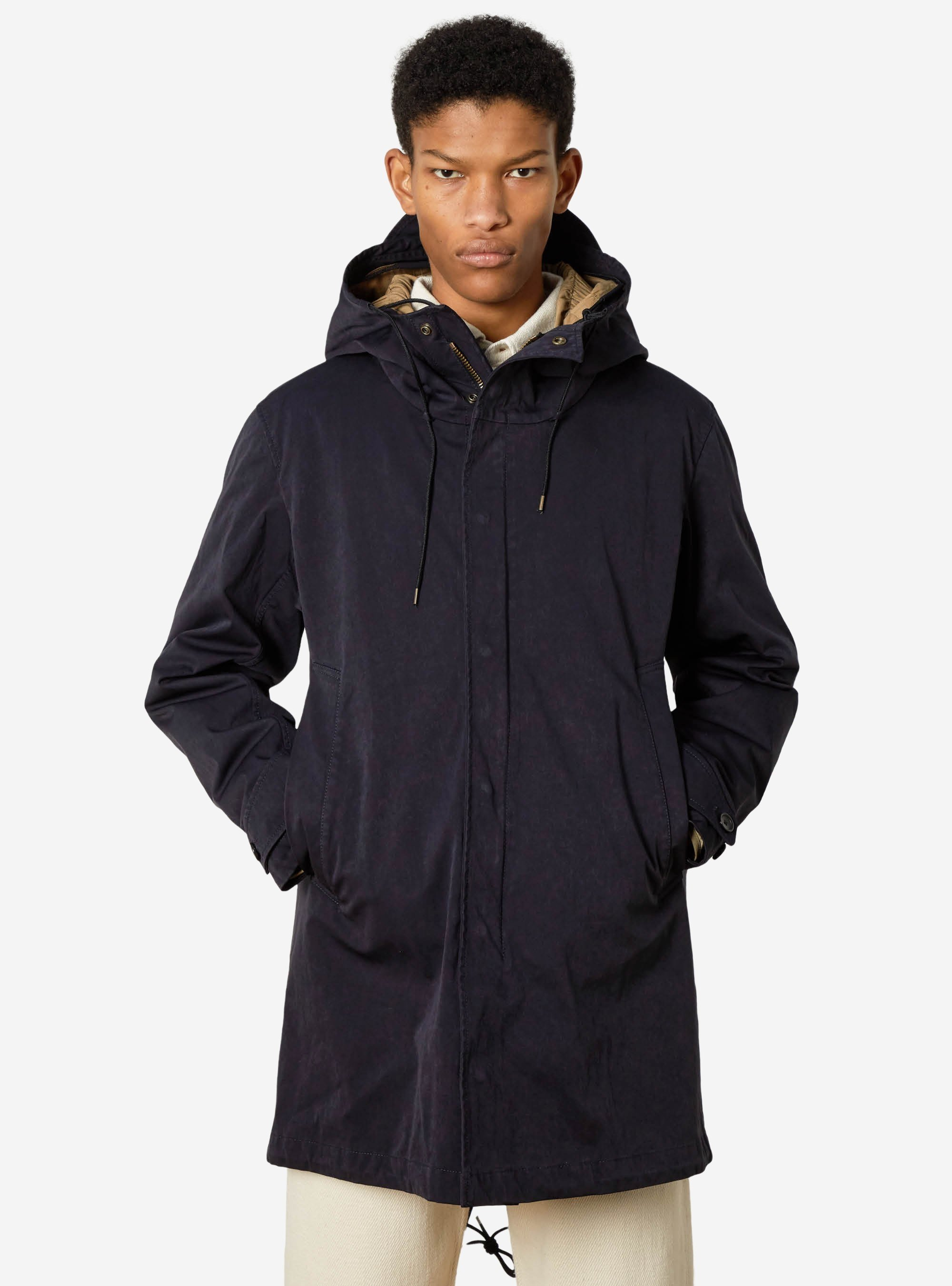 TEN C - CORE PARKA - Blue - TEN C