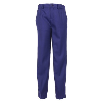 Blue viscose pants
