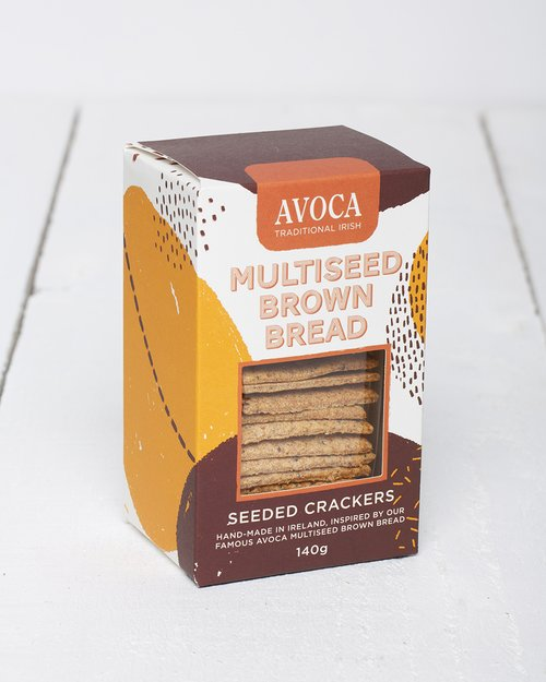 Multiseed Brown Bread Crackers