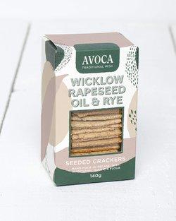 Wicklow Rapeseed Oil & Rye Crackers