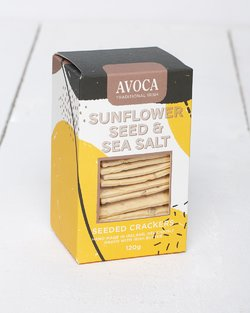 Sunflower Seed & Sea Salt Crackers