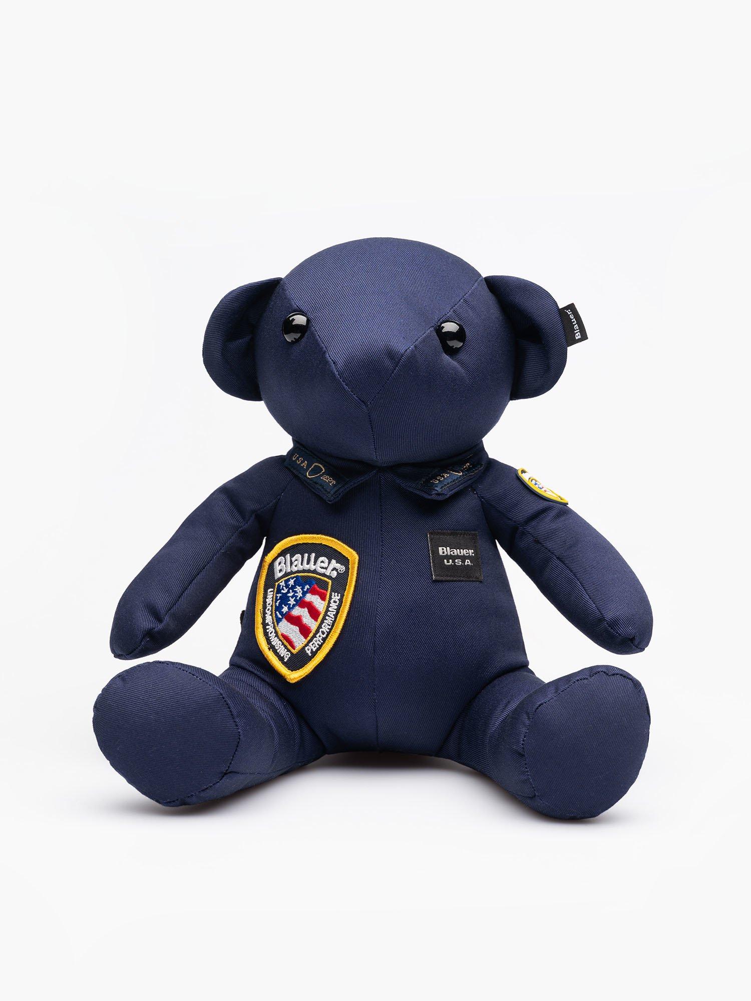 TEDDY BLAUER POLICE BEAR MASCOT - Blauer