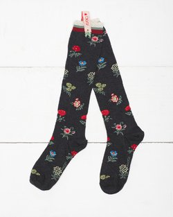 Victoria Flower Knee Sock