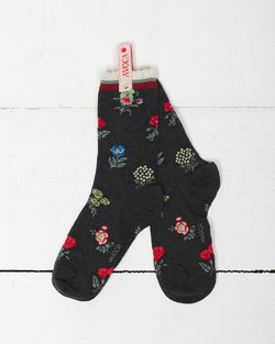Victoria Flower Ankle Sock