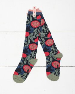 Pomegranate Knee Sock