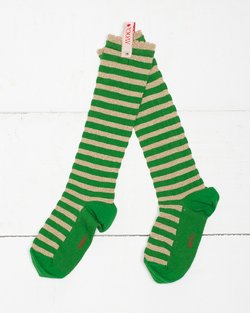 Sparkle Stripe Knee Sock