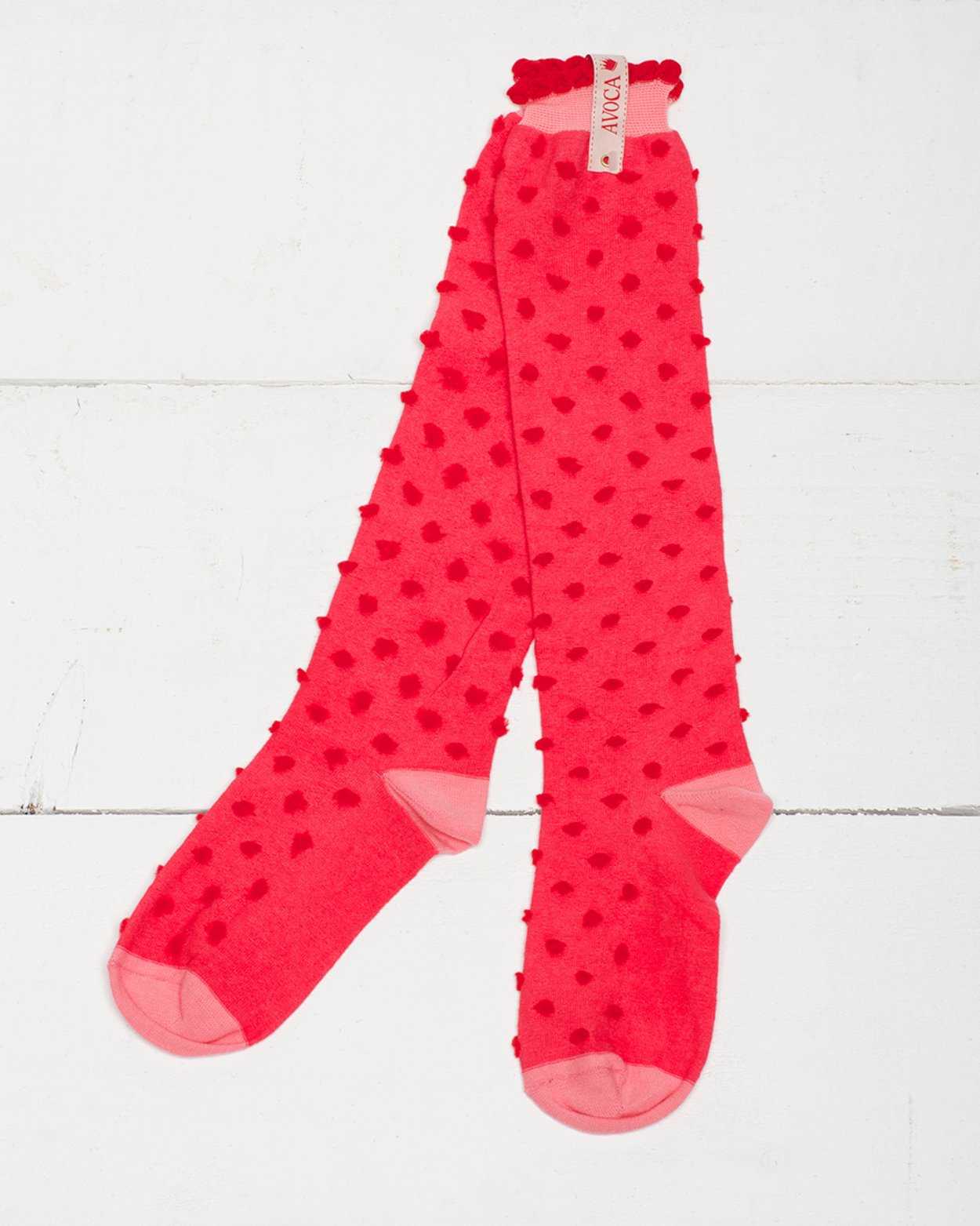 Pom Pom Knee Sock