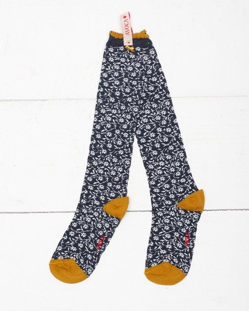 Little Flower Knee Sock