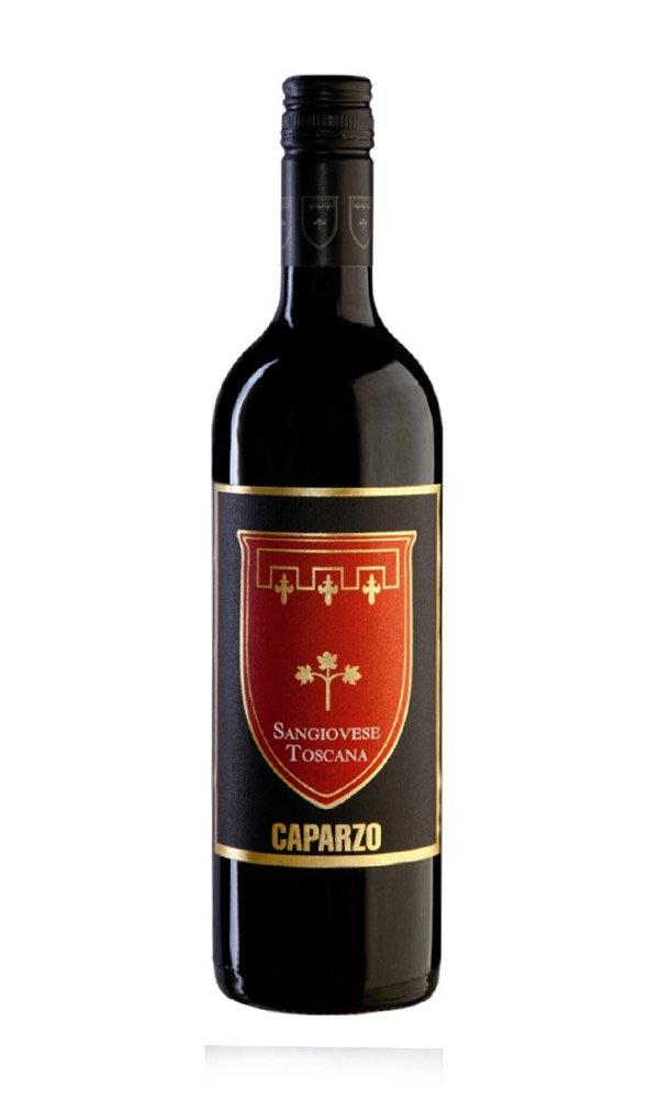 Sangiovese di Toscana by Caparzo (Case of 6 - Italian Red Wine)