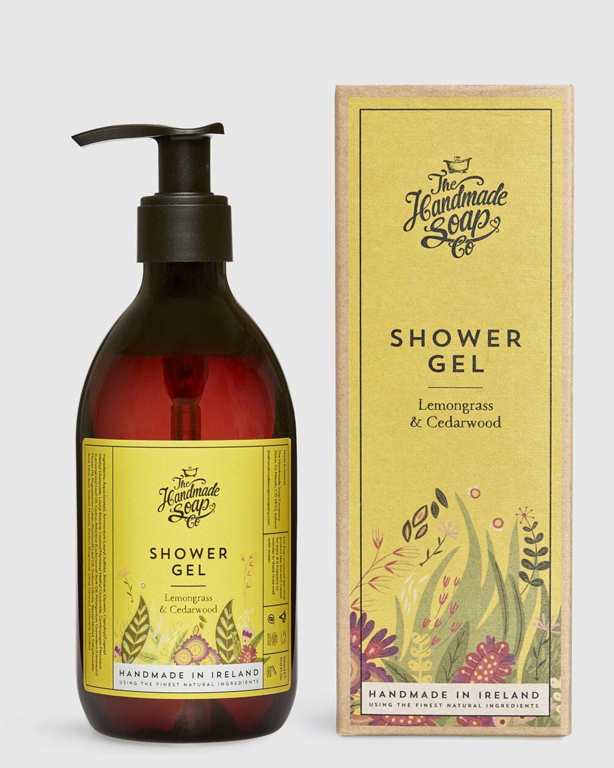 Lemongrass & Cedarwood Shower Gel