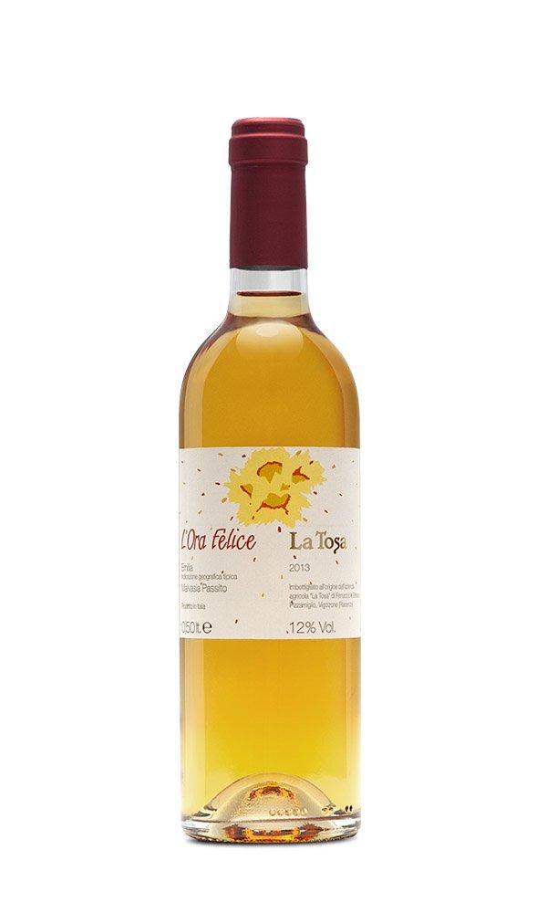 Libiamo - Malvasia Passita L'Ora Felice Colli Piacentini DOC by La Tosa (Italian Sweet White Wine) - Libiamo