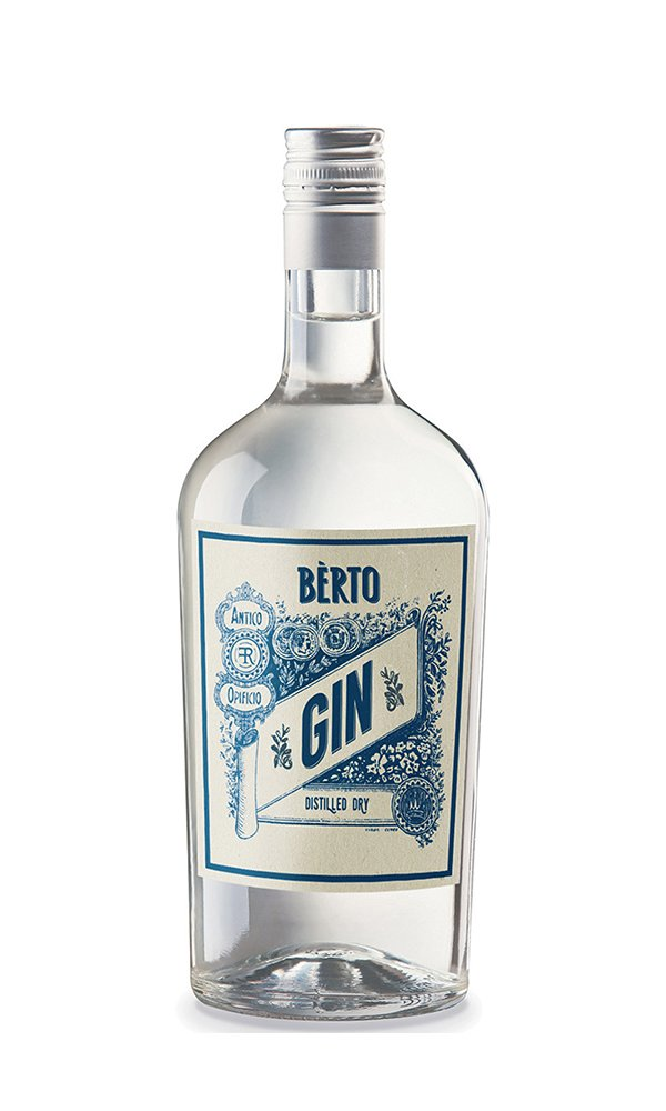 Gin Berto by Antica Distilleria Quaglia (Italian Gin)
