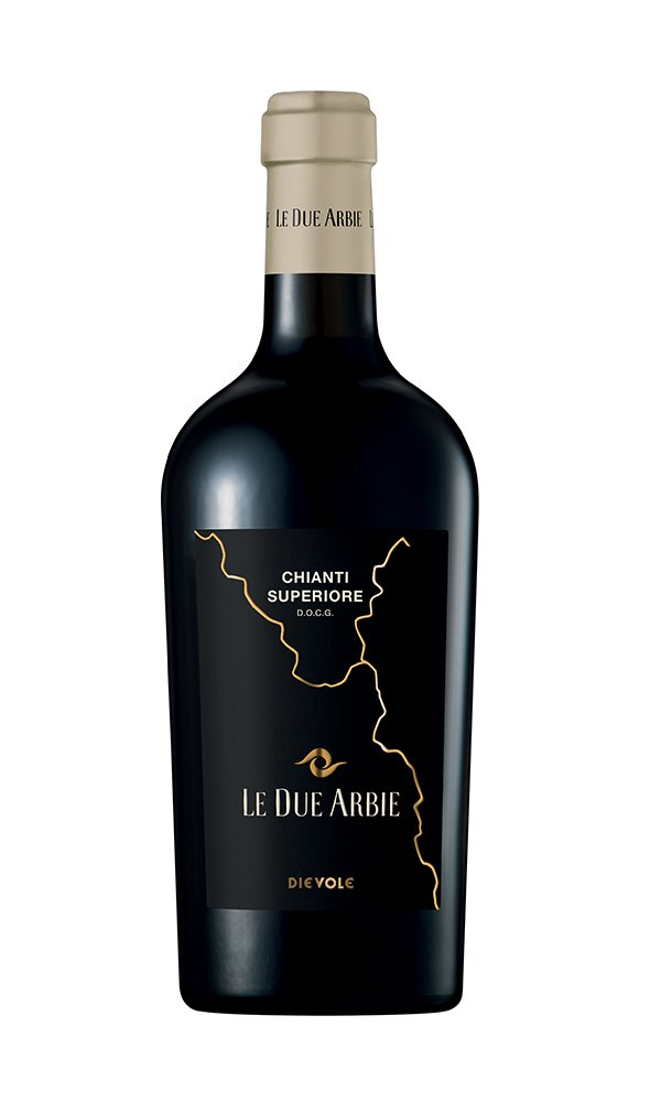 Chianti Superiore Le Due Arbie by Dievole (Case of 6 - Italian Red Wine)
