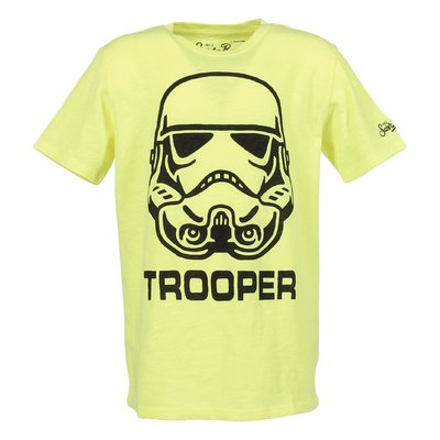 T-shirt giallo fluo Star Wars in jersey di cotone