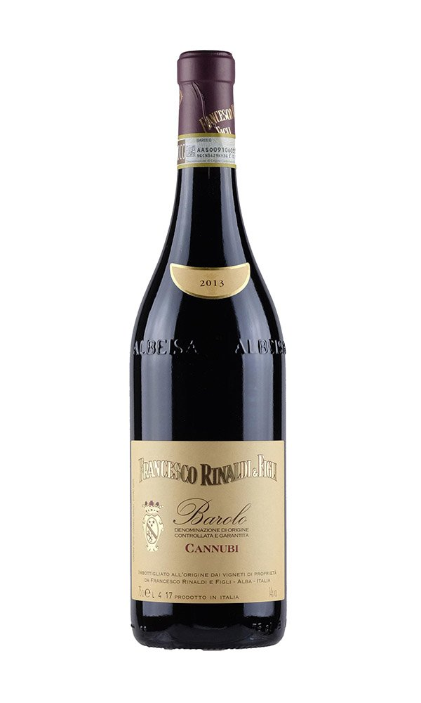 Barolo Cannubi by Francesco Rinaldi (Italian Red Wine)