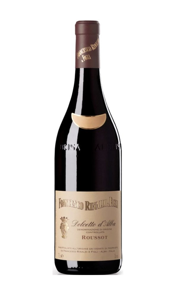 Dolcetto D'Alba Roussot by Francesco Rinaldi (Case of 3 - Italian Red Wine)