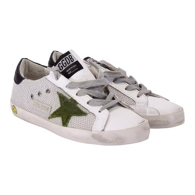 Sneakers Superstar in tessuto techno con lacci