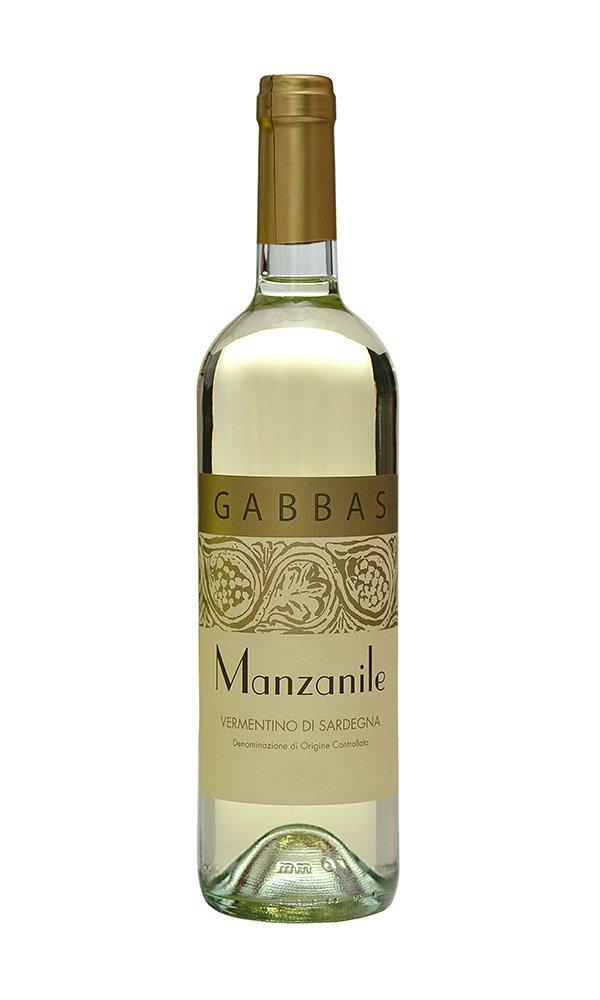 Vermentino di Sardegna Manzanile by Gabbas (Case of 3 - Italian White Wine)