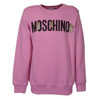 Pink Teddy Bear cotton sweatshirt