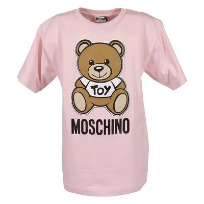 T-shirt rosa Teddy Bear in jersey di cotone