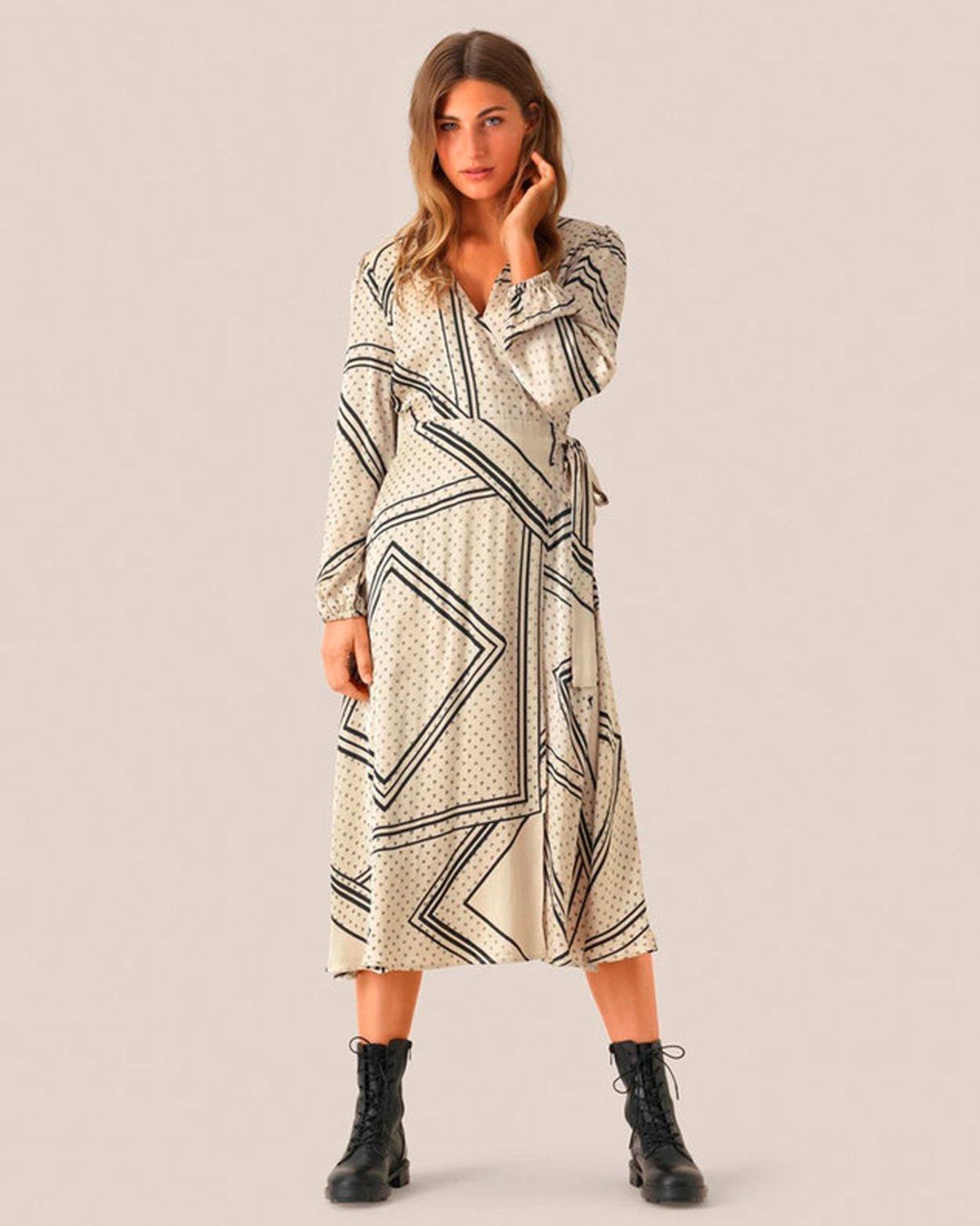 Isa Wrap Dress