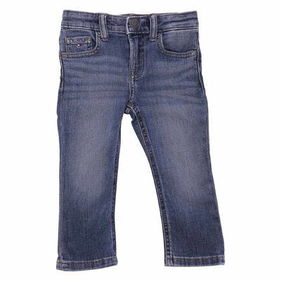 Tommy Hilfiger vintage effect stretch cotton denim jeans