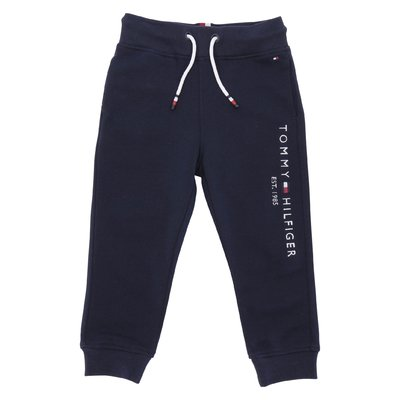 Navy blue cotton sweatpants
