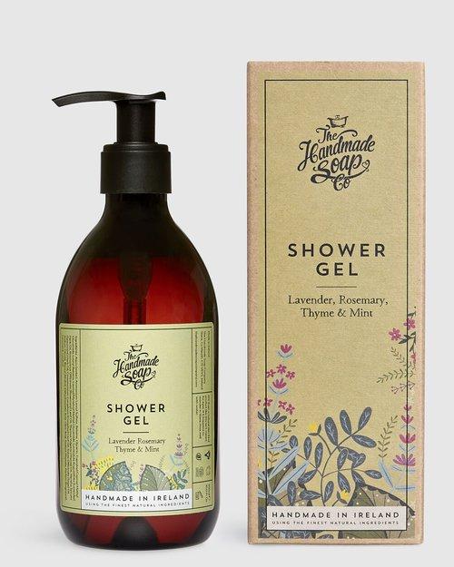 Lavender Rosemary Thyme & Mint Shower Gel