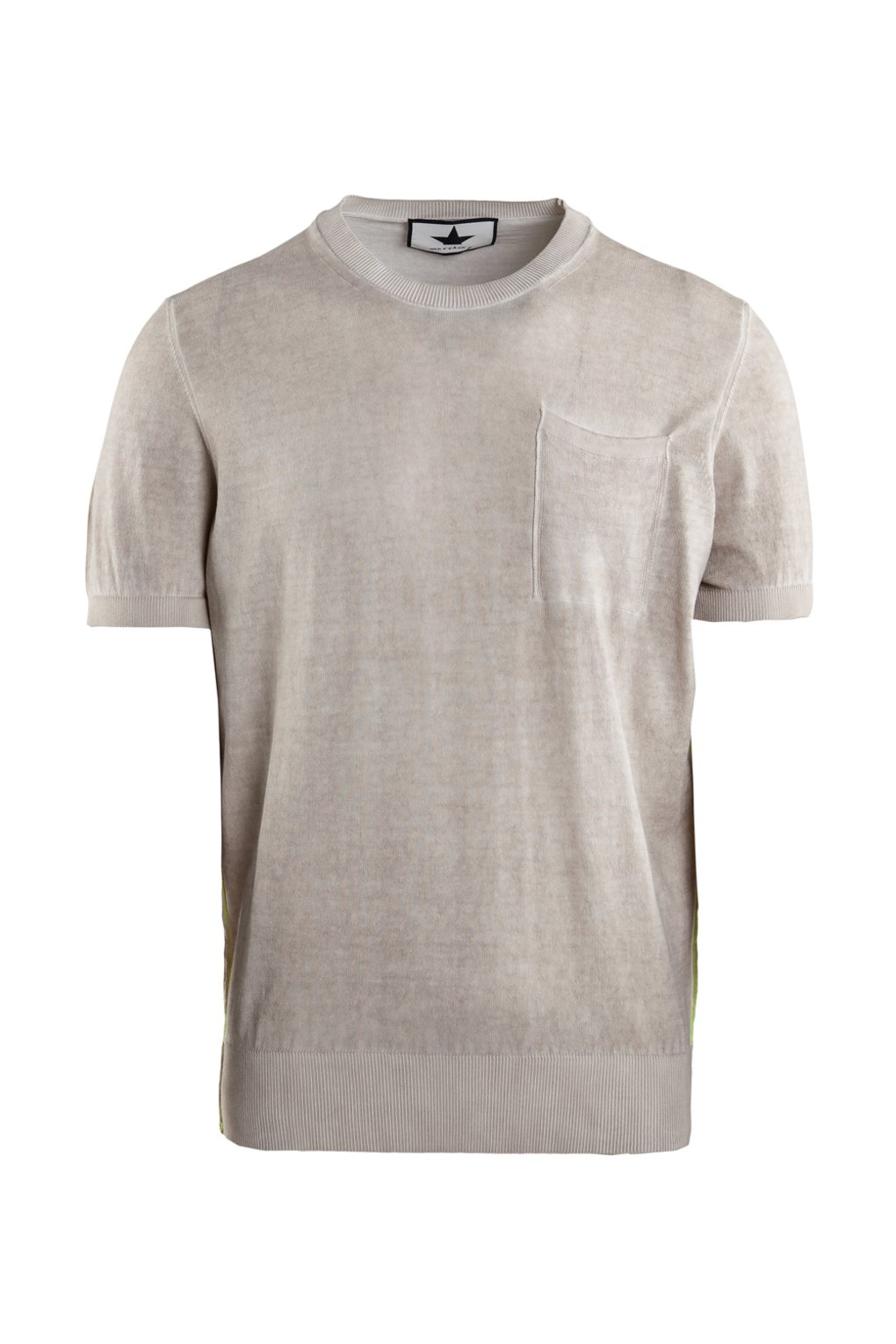 Cotton sweater short sleeve