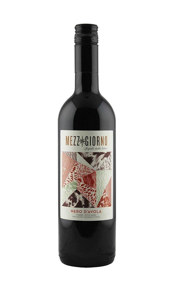 Nero D'Avola Mezzogiorno (Case of 6 - Italian Red Wine)