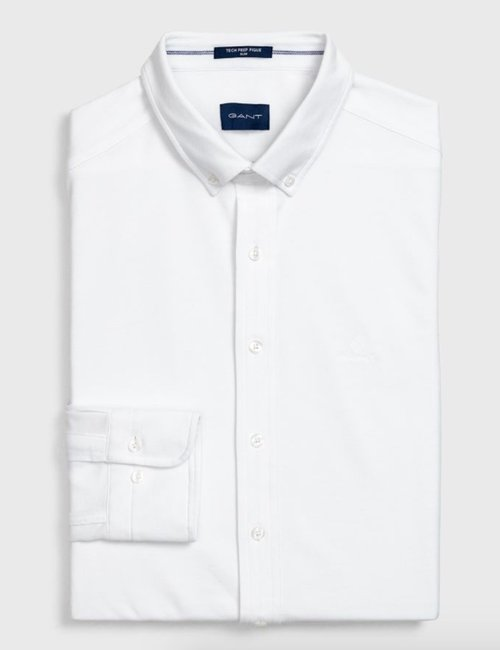 Camicia Gant slim fit - Bianco