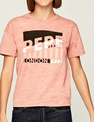 T-shirt Pepe Jeans con stampa