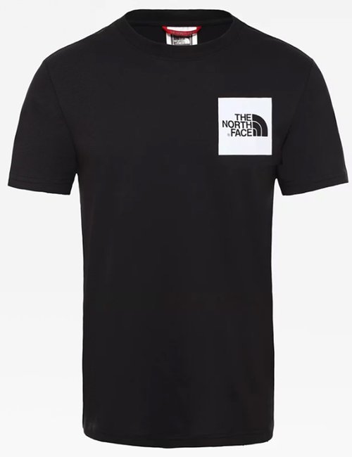 T-shirt The North Face con logo quadrato - Nero