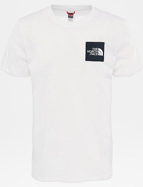 T-shirt The North Face con logo quadrato - Bianco