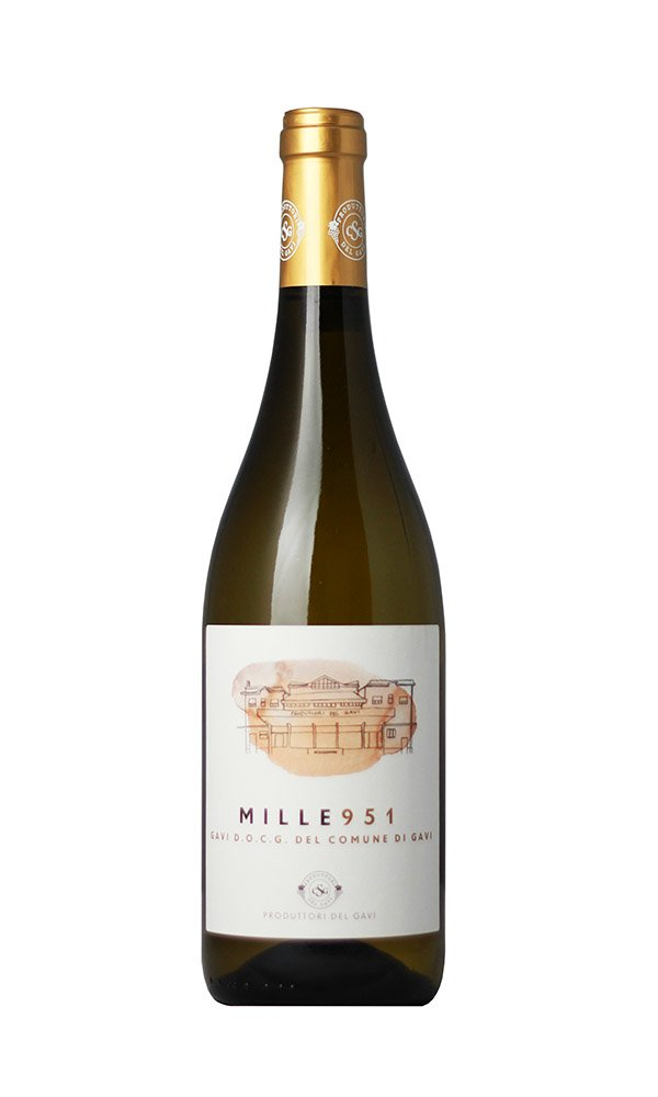 Gavi del Comune di Gavi Mille 951 by Produttori del Gavi (Case of 3 - Italian White Wine)