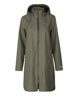 A-line Soft Shell Raincoat
