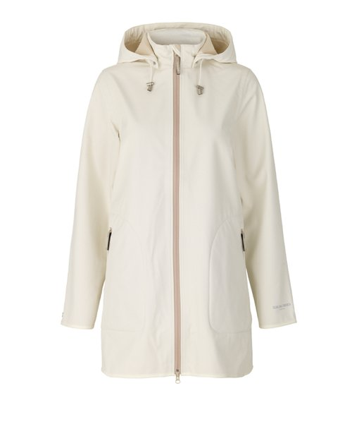 Short A-line Soft Shell Raincoat
