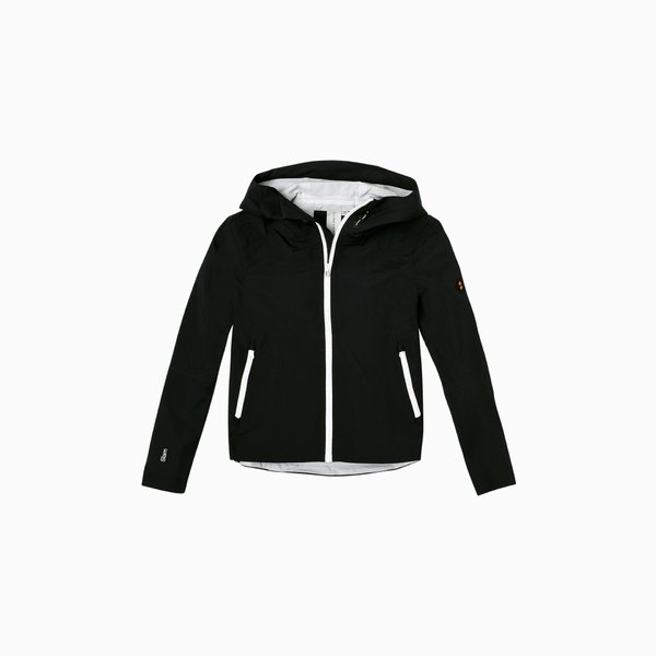 E204 woman jacket in polyester with 2.5 layers