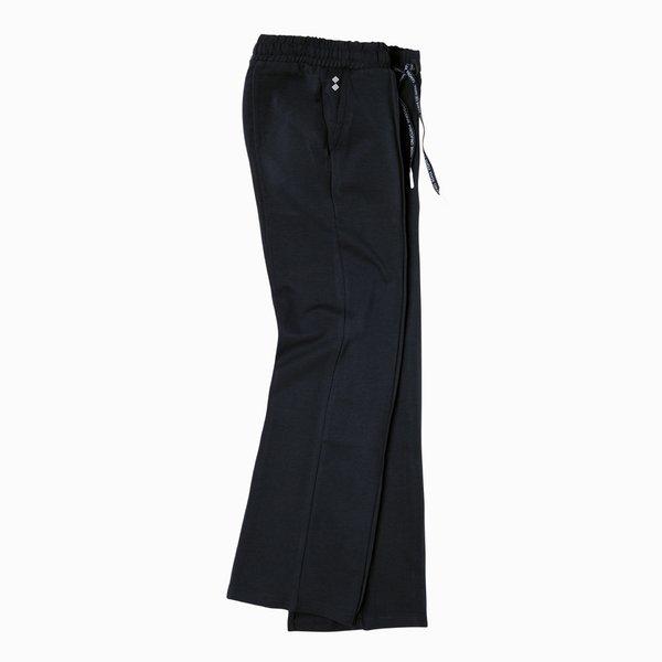 Pantalón mujer E263 de pierna ancha de algodón elástico