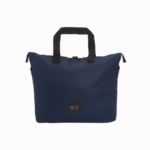 C103 Woman Bag in Nylon with perforated weave