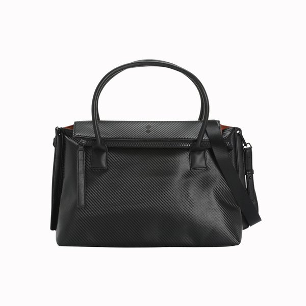 Women's Satchel Bag D921 Black